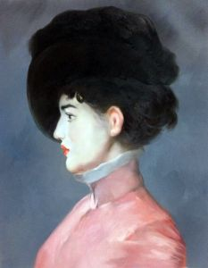 Irma Brunner (Woman in a Black Hat)