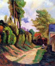 Sunken Lane, 1884