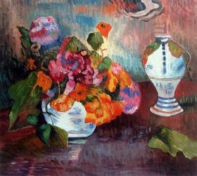 The Vase of Nasturtiums, 1886