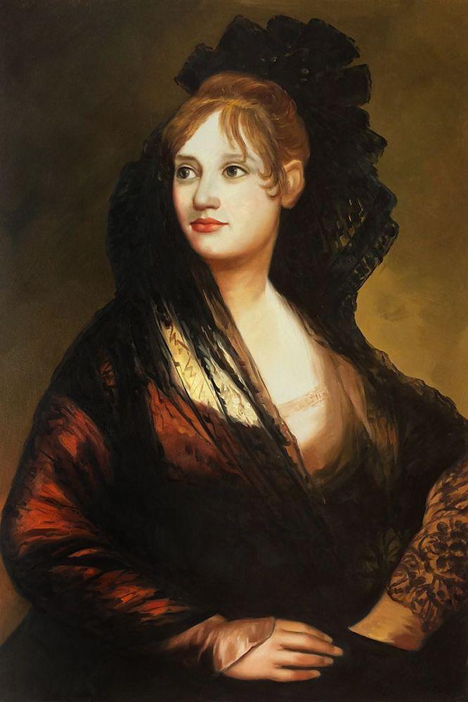 Portrait of Dona Isabel de Porcel
