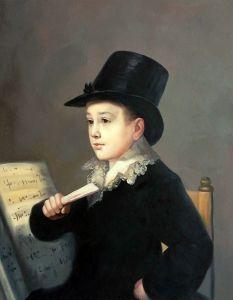 Portrait of Mariano