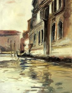 Venetian Canal, Palazzo Corner, 1880