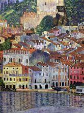 Malcesine on Lake Garda,1913