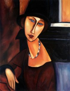 Jeanne Hebuterne with Hat and Necklace