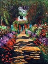 Garden Path at Giverny