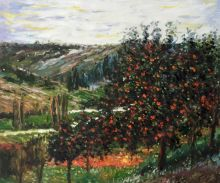 Apple Trees in Bloom at Vetheuil 1887 - 24