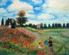 Poppy Field in Argenteuil