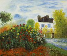 The Garden of Monet at Argenteuil, 1873