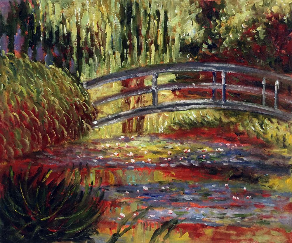 The Japanese Bridge (detail)