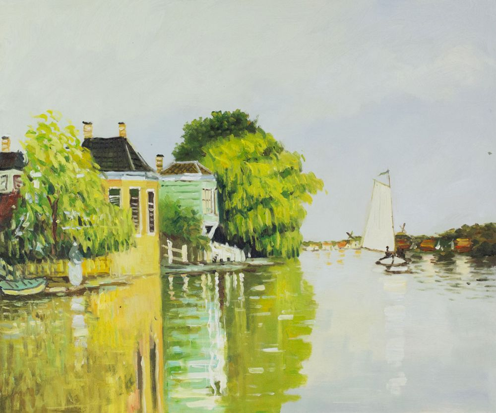 Houses on the Achterzaan