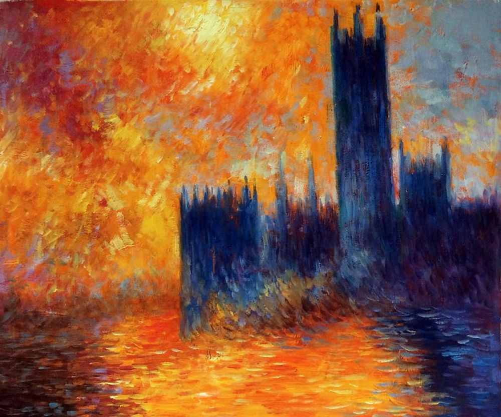 House of Parliament Sun