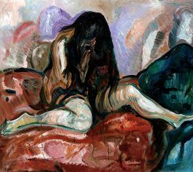 Weeping Nude, 1913-14
