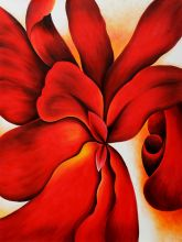 Red Cannas, 1923