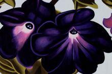 Black and Purple Petunias, 1924