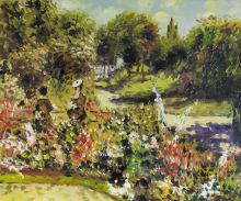 The Garden at Fontenay, 1874