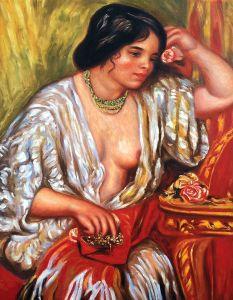 Gabrielle Wearing Jewelry