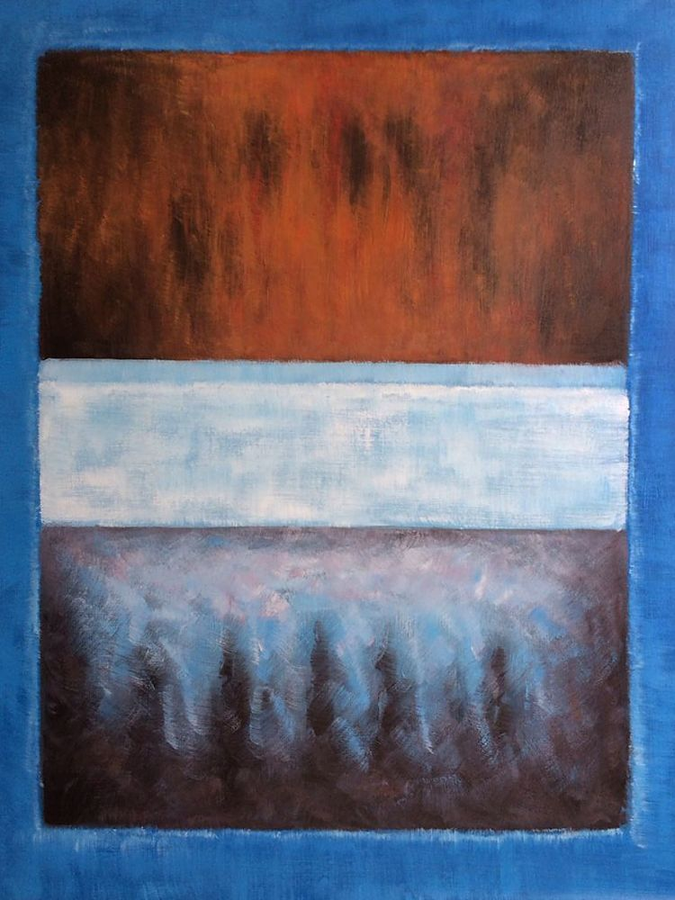 No. 61 Rust and Blue, 1953
