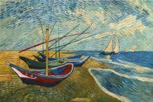 Fishing Boats on the Beach at Saintes-Maries - 36
