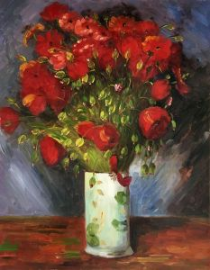 Vase with Red Poppies, 1886