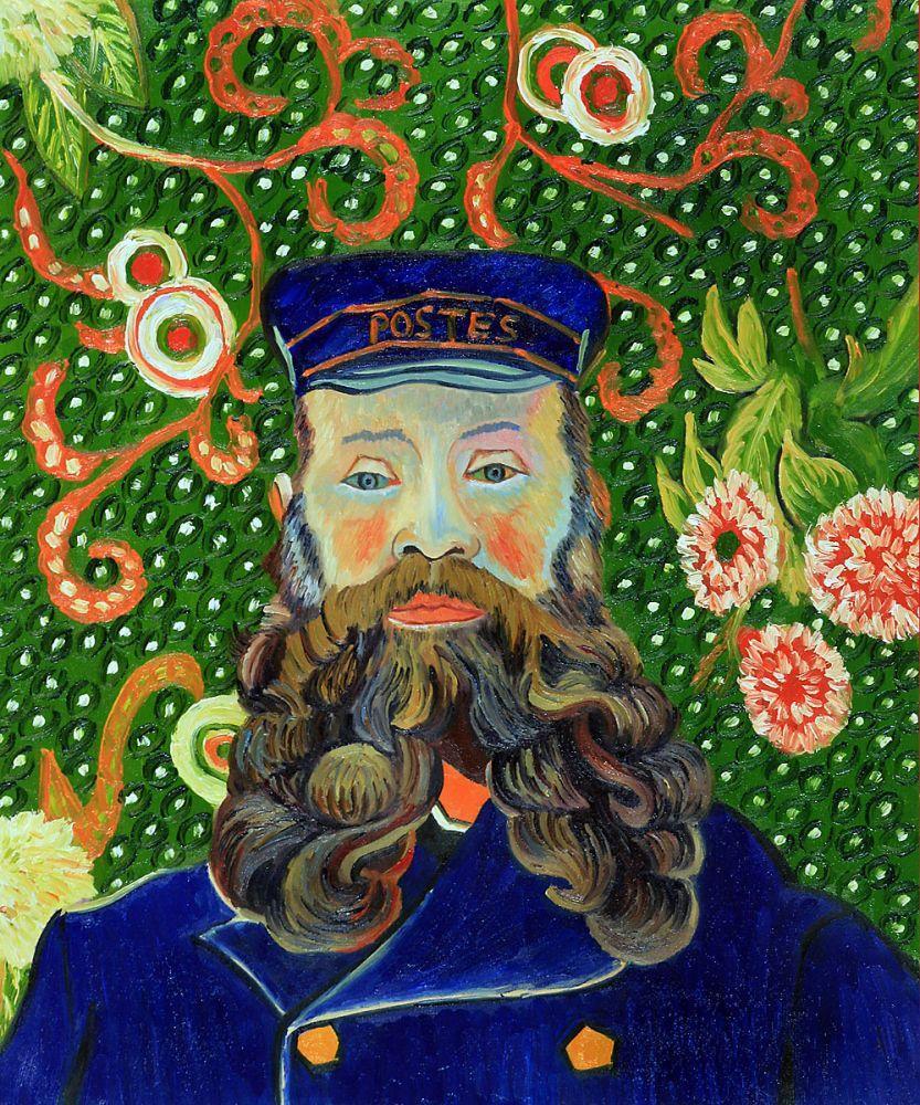 Portrait of the Postman - Joseph Roulin