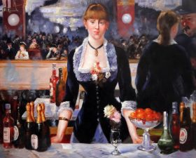 A Bar at the Folies-Bergere - 40