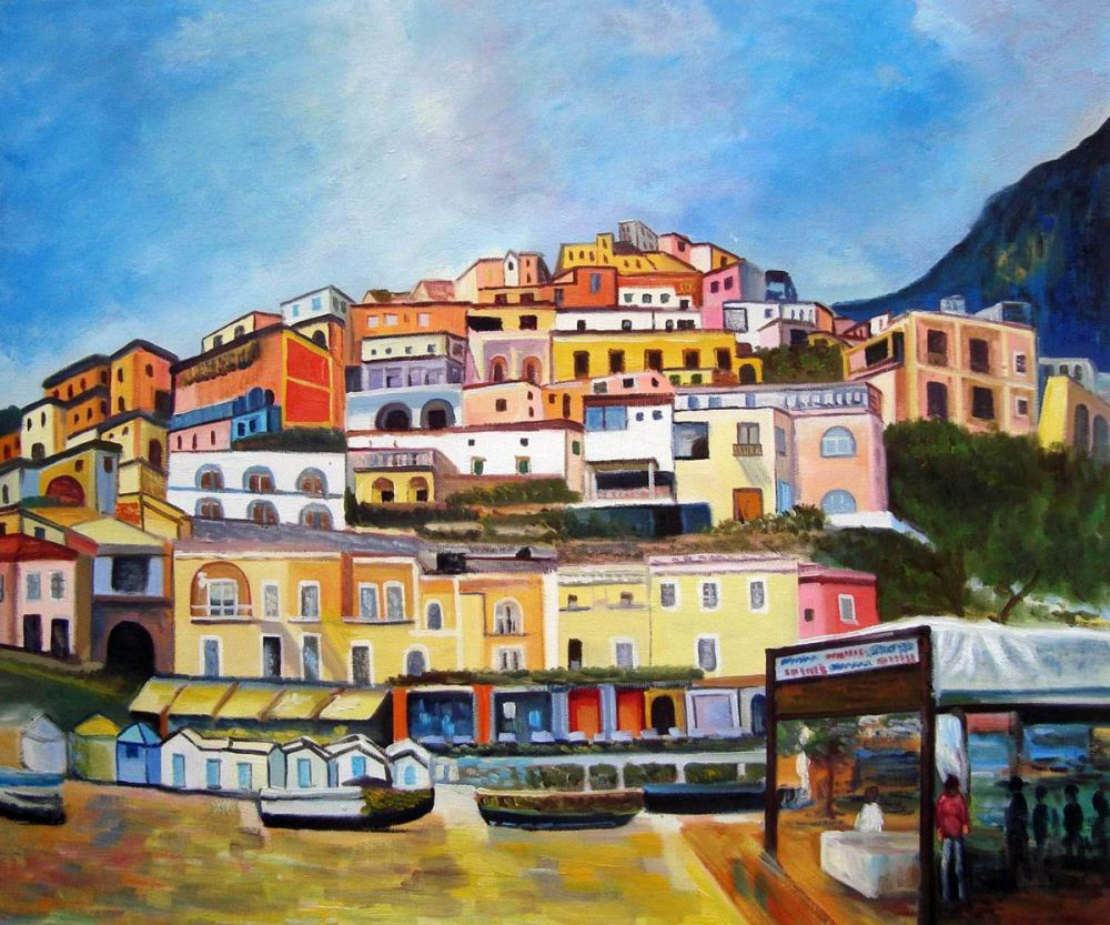 Boat rentals at Positano
