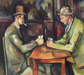 Card Players with Pipes - 24