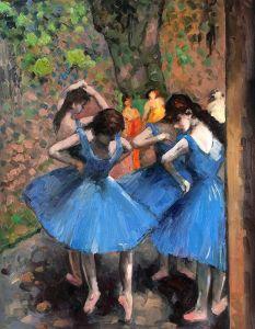 Dancers in Blue - 20