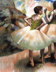 Dancers, Pink and Green - 20