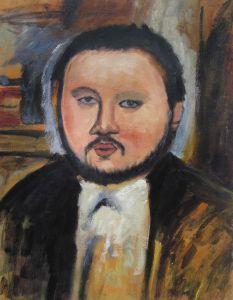 Portrait of Diego Rivera