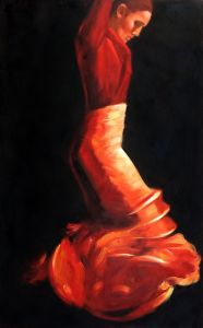 Flamenco IV Reproduction