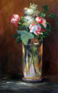 Flowers in A Crystal Vase II