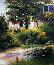 Garden Path in Rueil