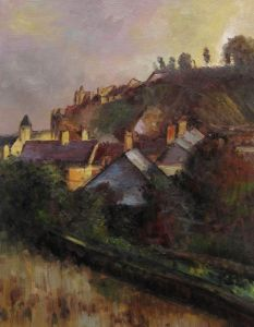 Houses at the Foot of a Cliff (Saint-Valery-sur-Somme) - 20