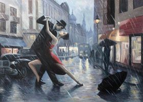 Life is a Dance in The Rain Reproduction
