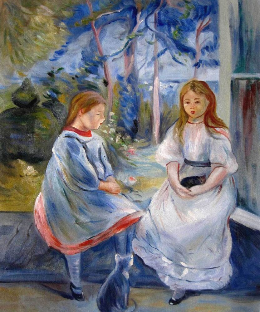 Little Girls at the Window