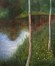 Landscape with Birch Trees - 20