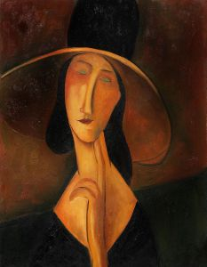 Portrait of Woman in Hat - 20