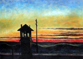 Railroad Sunset - 36