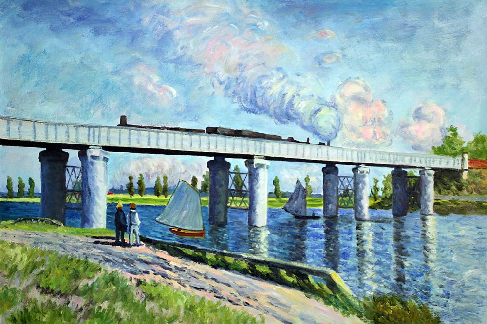 Rainway Bridge at Argenteuil