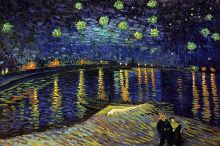 Starry Night Over the Rhone - 36