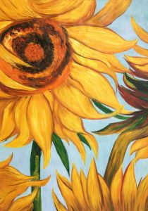 Sunflowers (detail) - 30