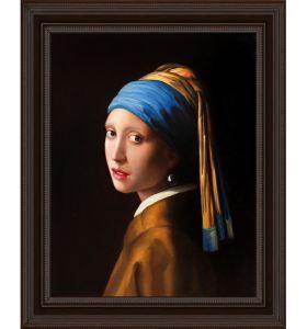 Girl with Pearl Earring Pre-Framed