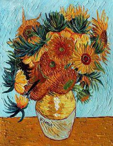 Sunflower Collage (artist interpretation)