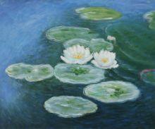 Water Lilies; Evening - 24