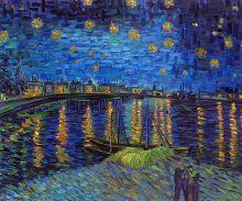 Starry Night Over the Rhone (Luxury Line) - 24
