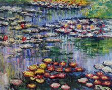 Water Lilies (pink) - 20