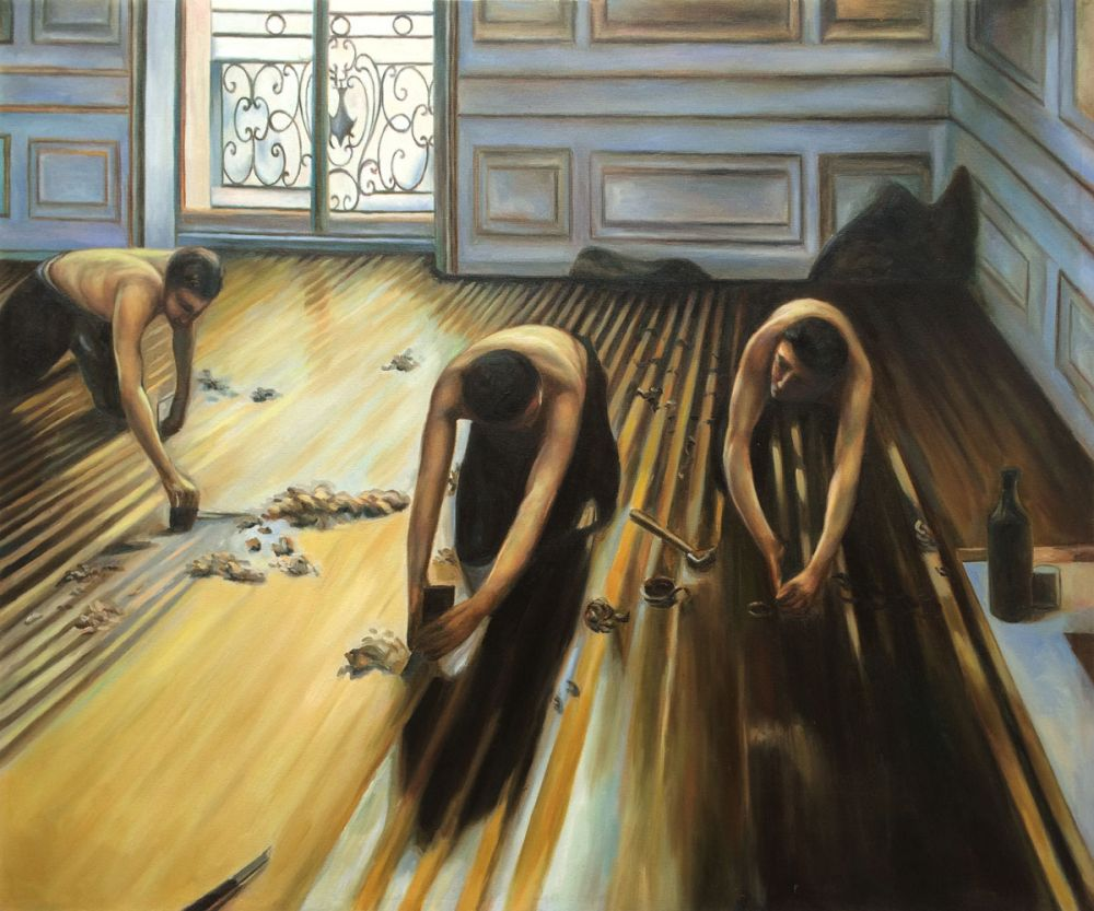 Caillebotte - The Floor-Scrapers - Reproduction