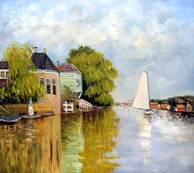 Houses on the Achterzaan - 24