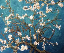 Branches of an Almond Tree in Blossom - 24